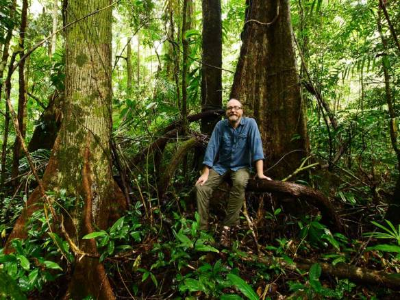 Kelvin Davies, Director of Rainforest Trust Australia at Lot 79-Buchanan Road